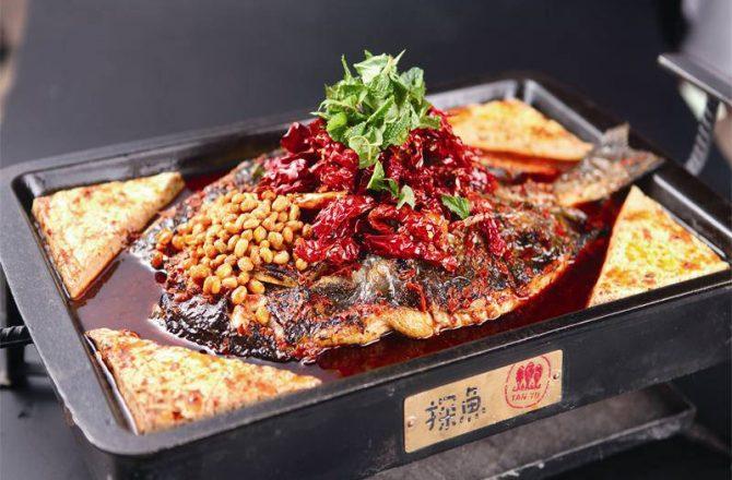 台中公益路美食|另類火鍋「探魚」:大陸最文藝烤魚店@台中南屯區