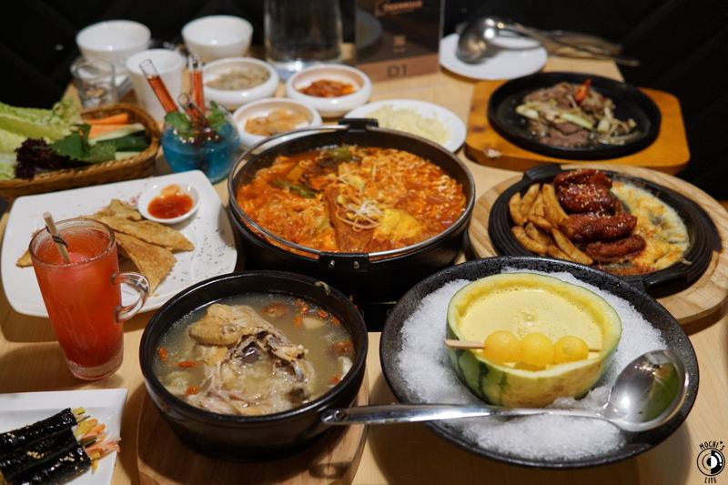 市政府捷運站美食|朋友聚會餐廳推薦! 創意飲品+特色韓式料理「韓虎嘯」韓國年糕專賣店