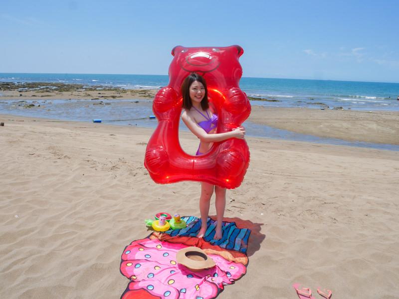甜甜圈泳圈