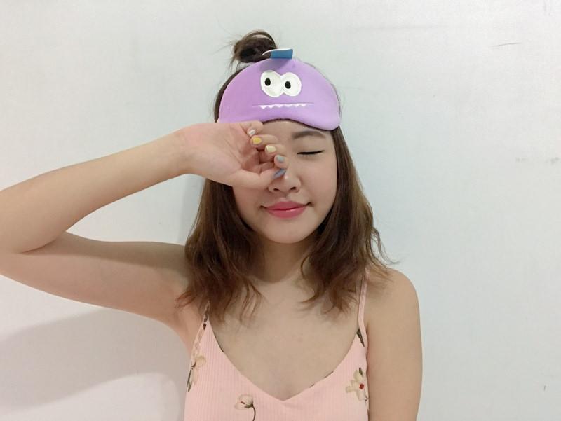 USB熱敷眼罩|小怪獸可愛眼罩!「DreamKiss甜言夢語」 消除眼睛疲勞黑眼圈