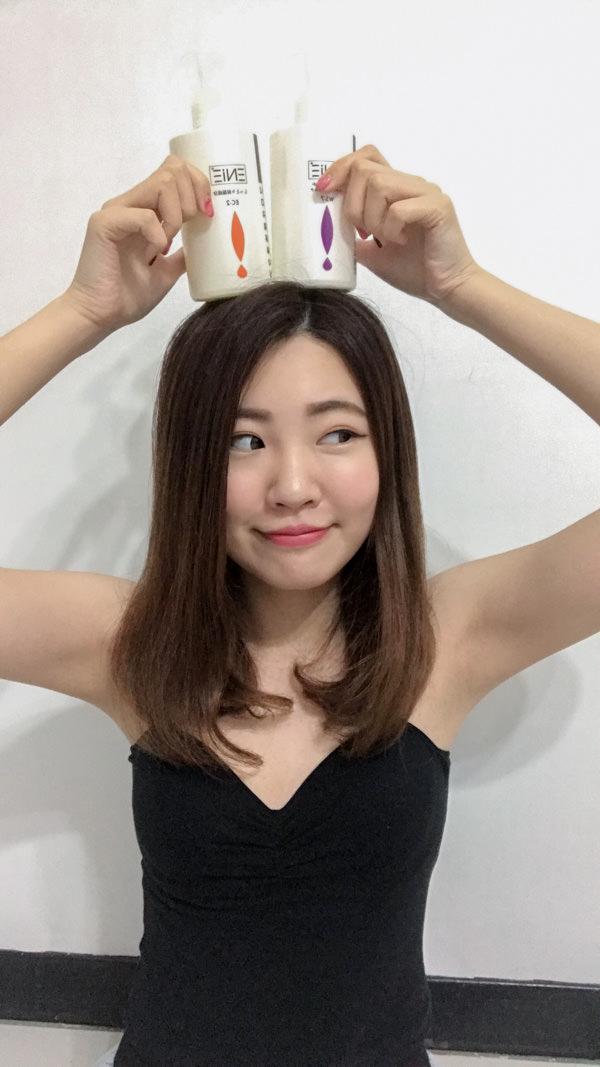 護色洗髮精推薦|洗髮同時護髮「ENIE雅如詩專業髮品」蝸牛護髮素
