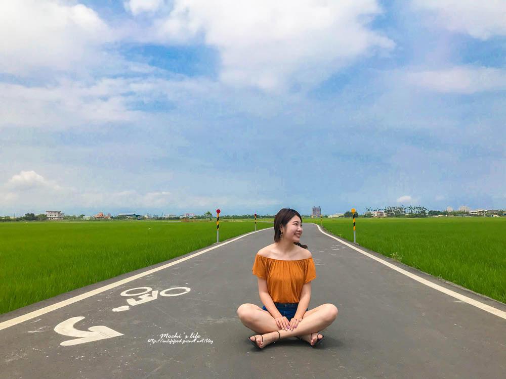 宜蘭冬山IG景點|宜蘭伯朗大道:六月季節限定 私房景點S型稻田
