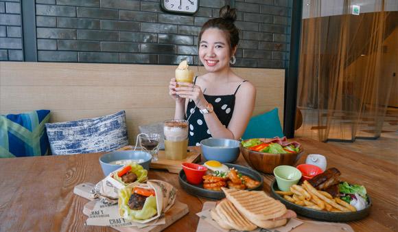高雄早午餐  不用花大錢也可吃飯店早餐「Hotel Indigo 英迪格」FunNow方案超划算!@捷運中央公園