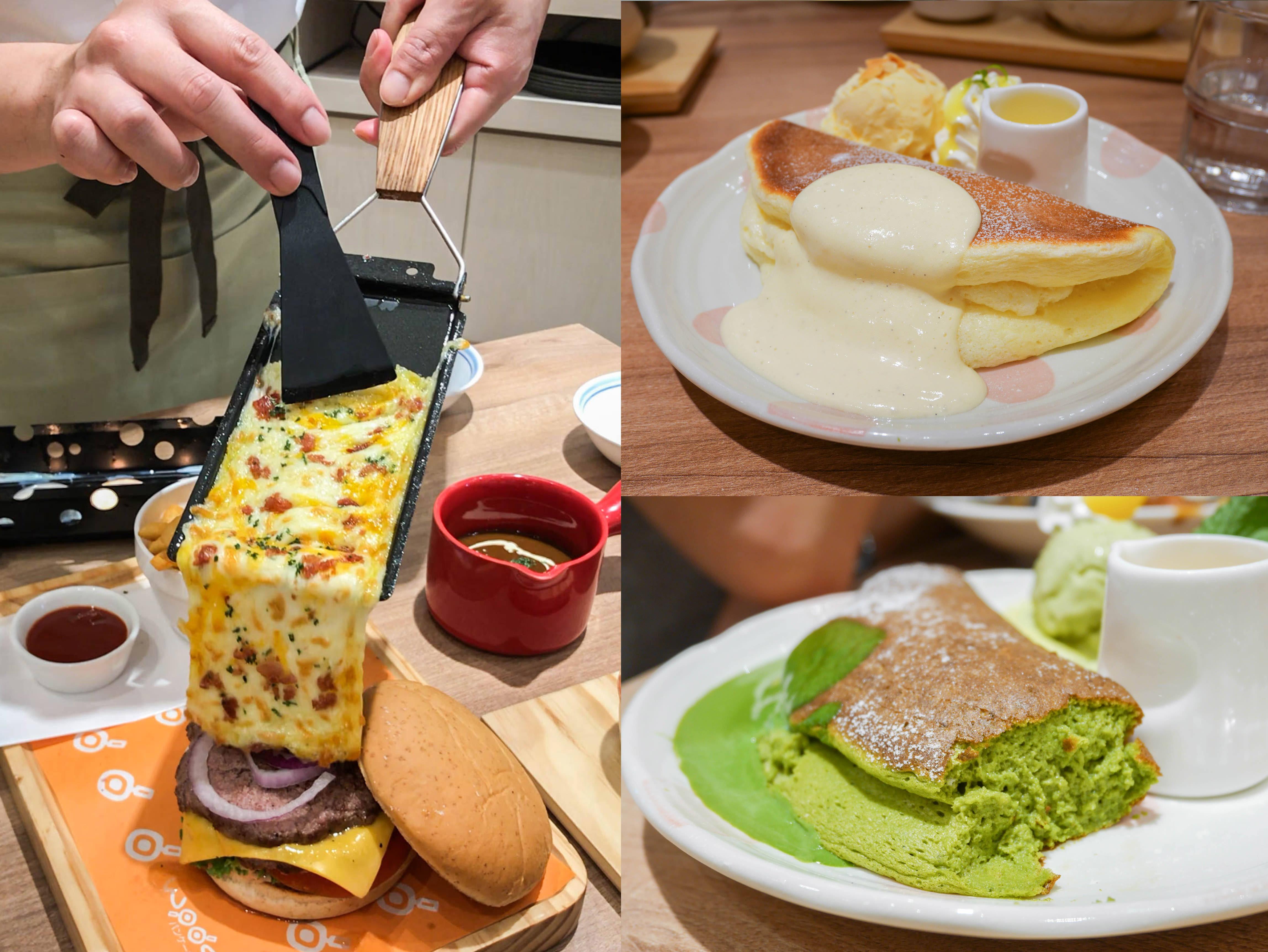 台北車站美食|Woosa屋莎鬆餅屋:鹹食也好吃的雲朵鬆餅!從高雄紅上來的下午茶鬆餅@捷運台北車站