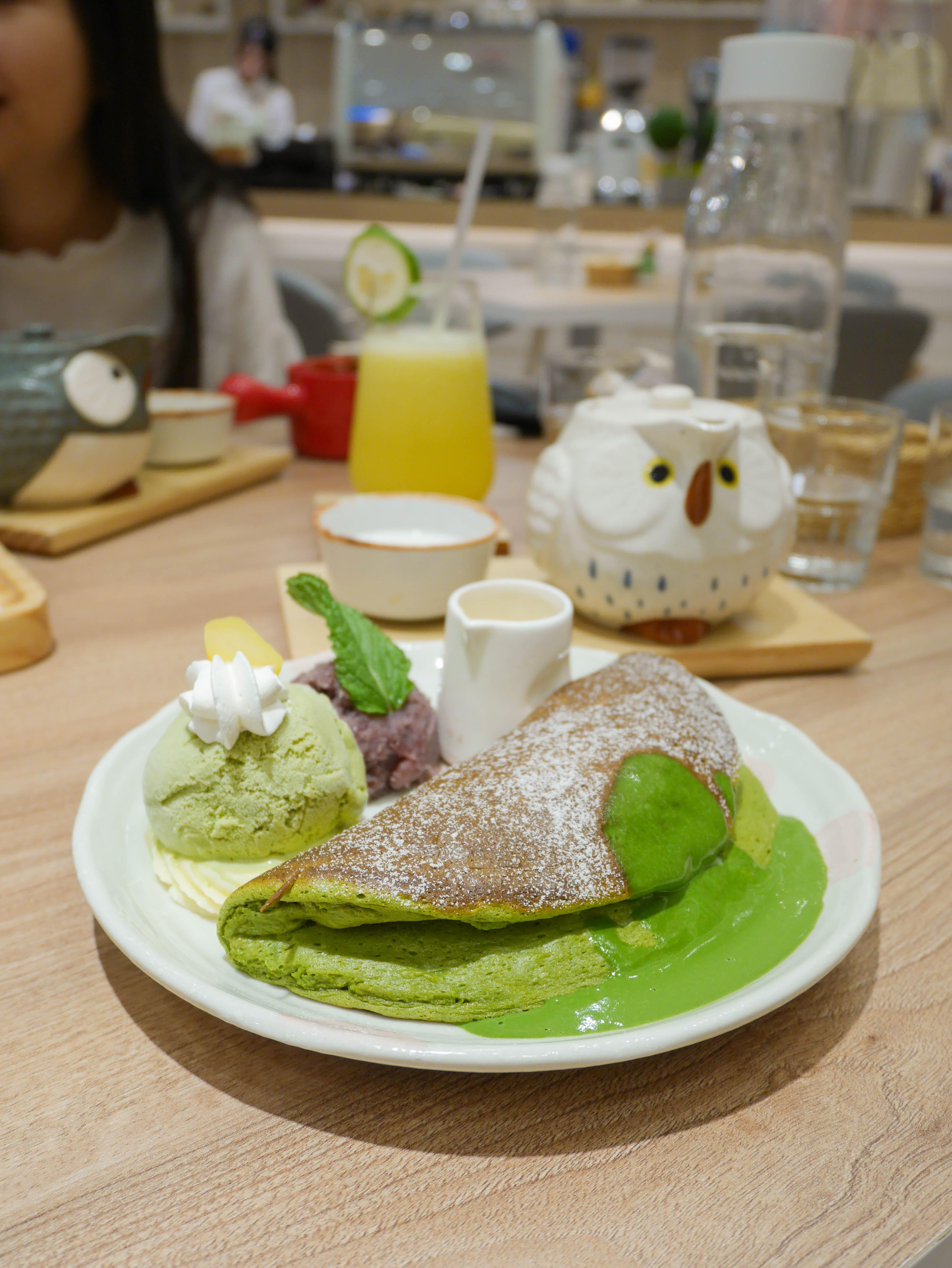 屋莎鬆餅台北