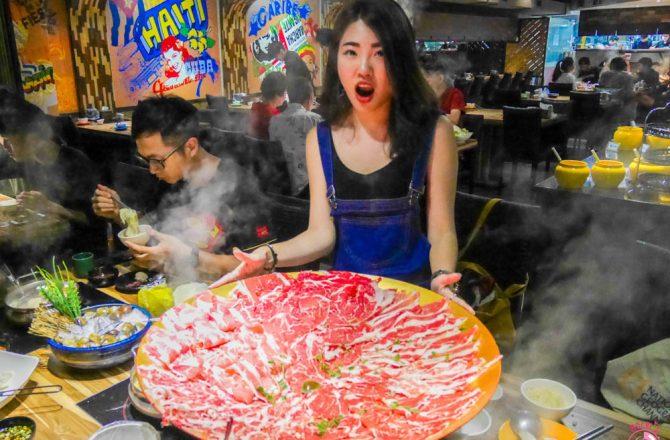 西門火鍋推薦|爭纖健康涮涮鍋:超狂40盎司牛肉鍋,當月壽星四人同行一人免費@捷運西門站/西門美食