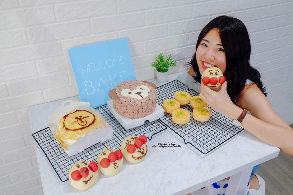 台北蛋糕DIY Welcome Bake來約會吧:達菲蛋糕跟麵包超人❤還有網美花牆可拍照!自己做蛋糕好簡單/Welcome Bake價格/親子做蛋糕/中山國中站