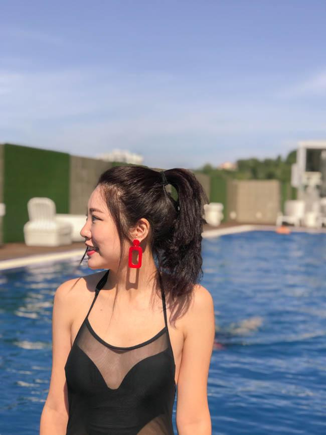 壓克力耳環