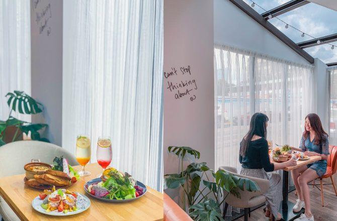 東門站早午餐|Muko Brunch:陽光灑下超好拍的IG韓系玻璃屋餐廳,必點法式吐司早午餐❤@捷運東門站/東門美食/大安區早午餐