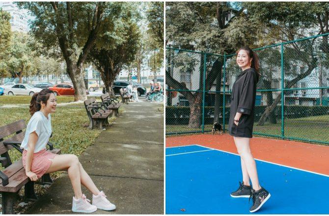 PLAYBOY鞋子穿搭|穿上腿長5公分~PLAYBOY兔兔內增高鞋,粉色黑色運動甜美都百搭