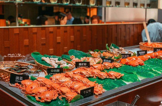 台北信義泰式料理吃到飽|泰市場:甜蝦干貝超好吃!泰式海鮮生日高級餐廳推薦@捷運市政府站
