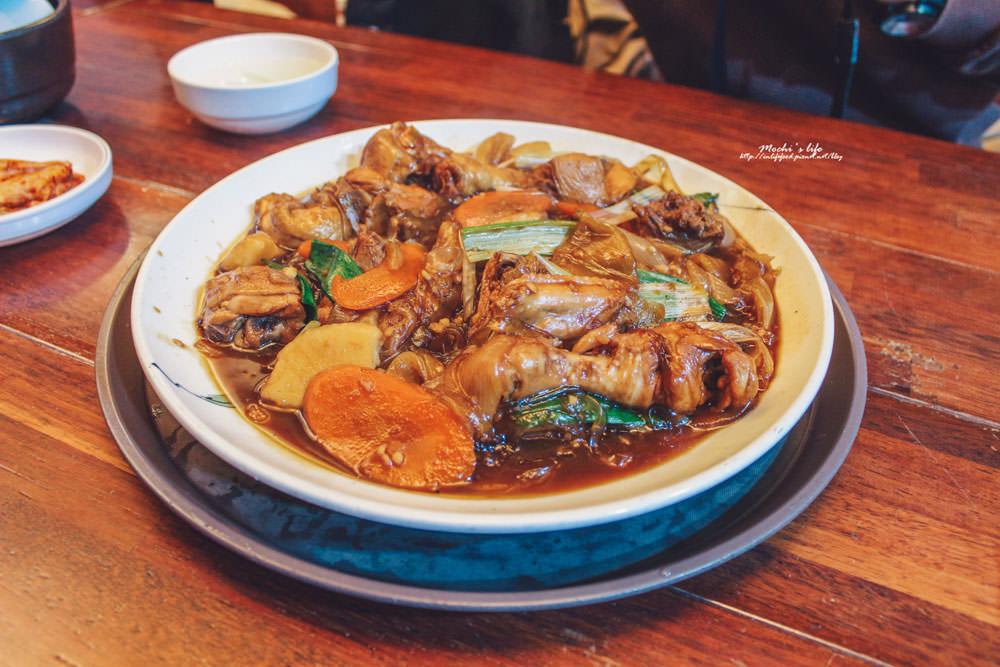 首爾明洞必吃美食 安東燉雞,就算辣還是想吃~明洞逛街休息必吃餐廳@明洞站 안동찜닭
