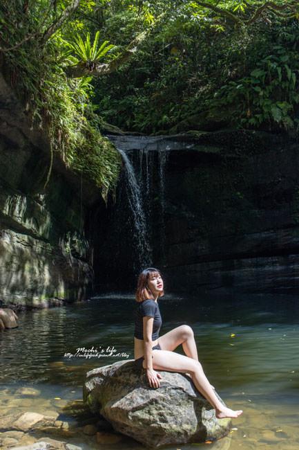 望谷瀑布跳水