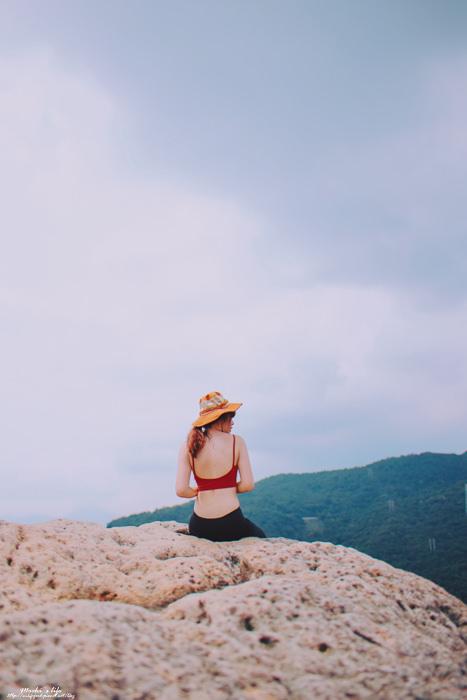 金面山攀岩