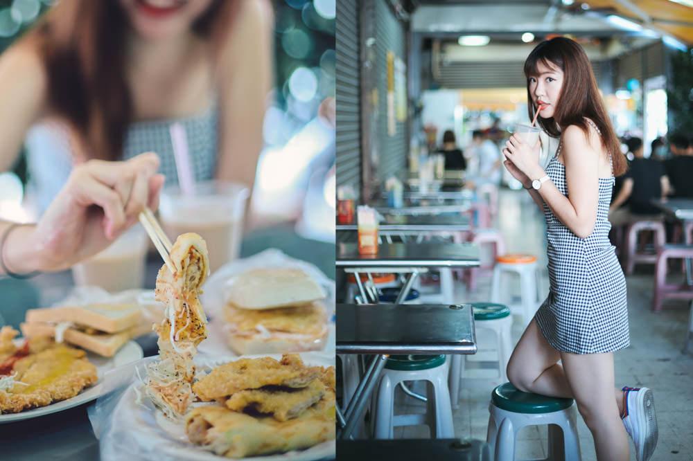 嘉義西區早餐推薦 新生早點:(附菜單)峰炸蛋餅飽到吃不完,大推桂圓紅豆漿