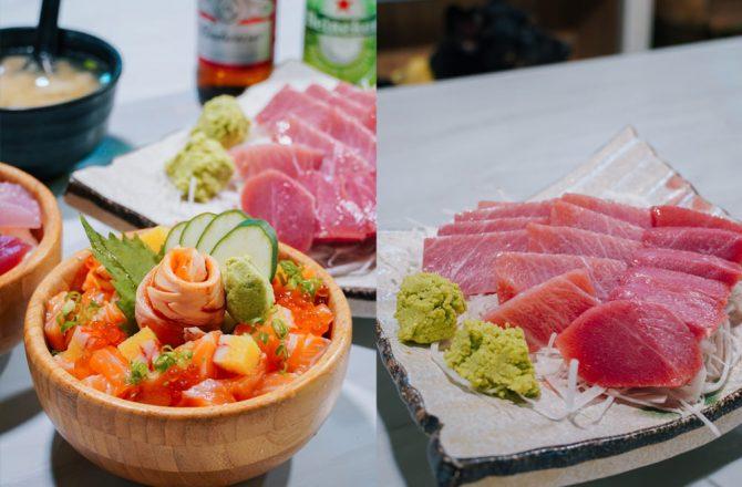 屏東東港美食|曾鮮生魚片:CP值超高厚切生魚片~無法忘懷的華僑市場必吃美食!