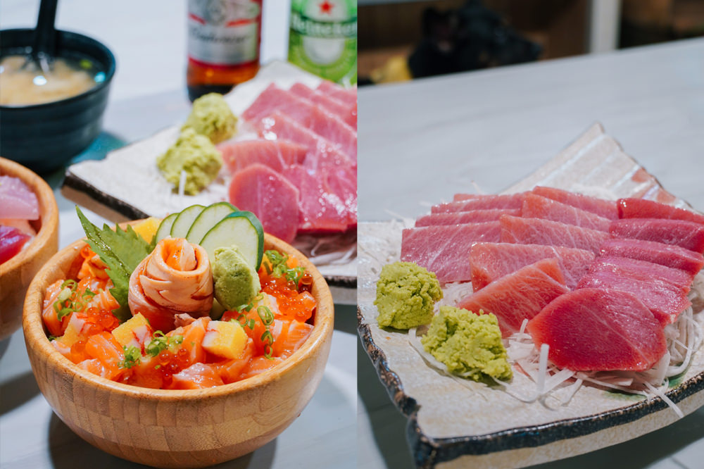 屏東東港美食 曾鮮生魚片:CP值超高厚切生魚片~無法忘懷的華僑市場必吃美食!