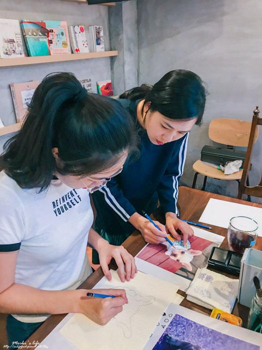 台北畫畫體驗