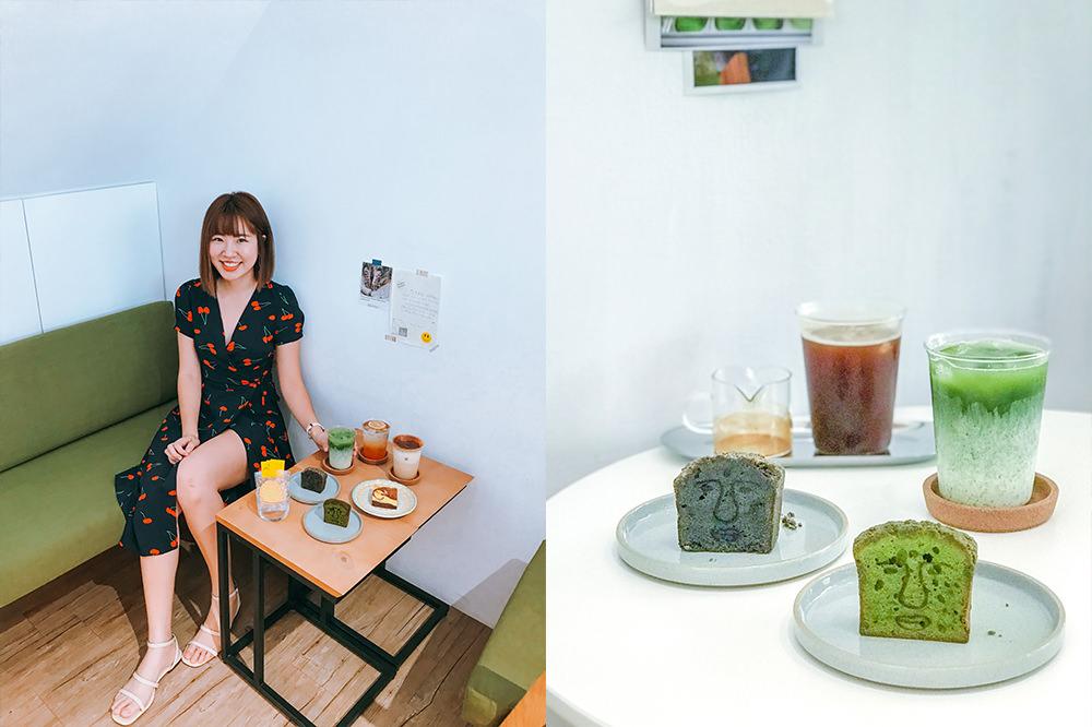 高雄前鎮咖啡廳|Moin Coffee Stand莫因咖啡:超療癒IG超紅大佛抹茶磅蛋糕,還是間寵物友善餐廳