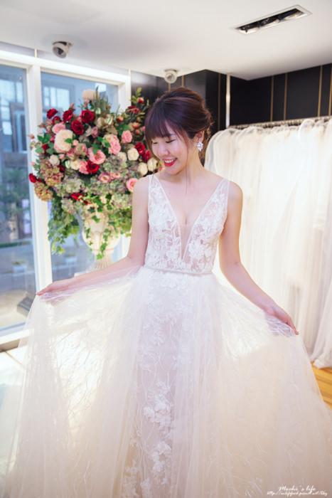 昆娜婚紗試穿