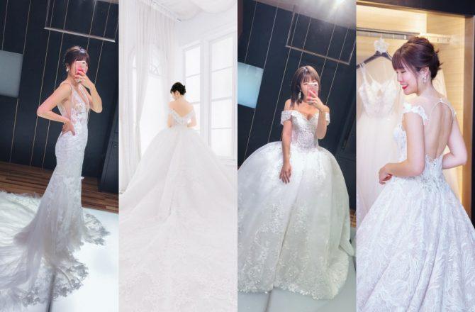 台中宴客婚紗推薦︱昆娜經典婚紗:超親切的婚紗體驗,夢幻時尚國際品牌婚紗