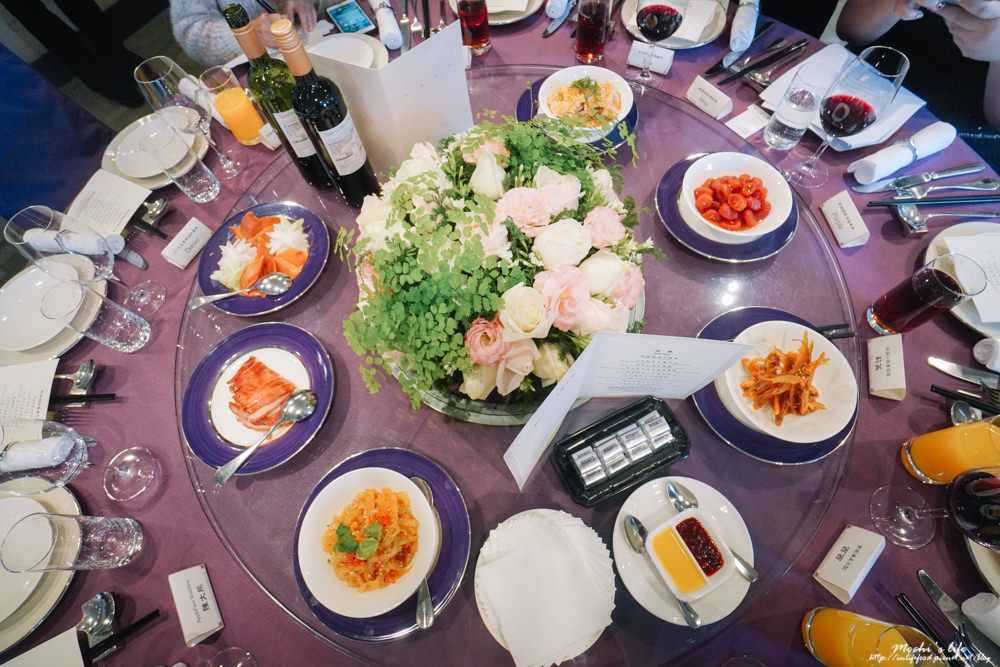 君悅酒店婚宴試菜