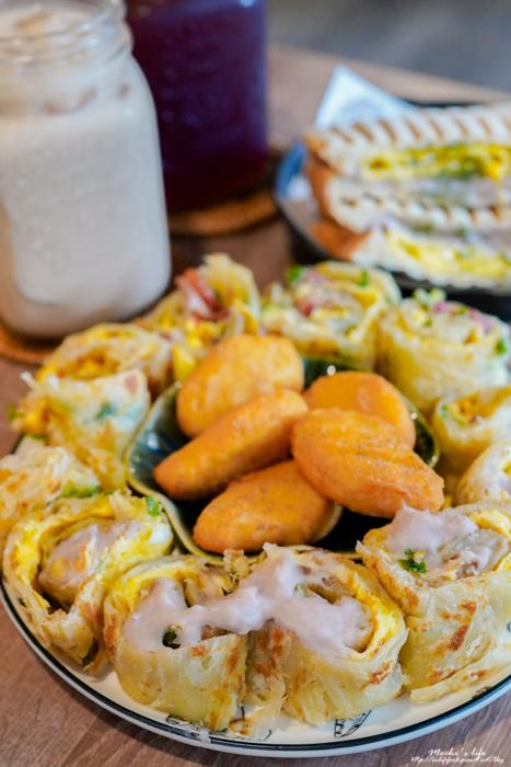板橋芋泥蛋餅
