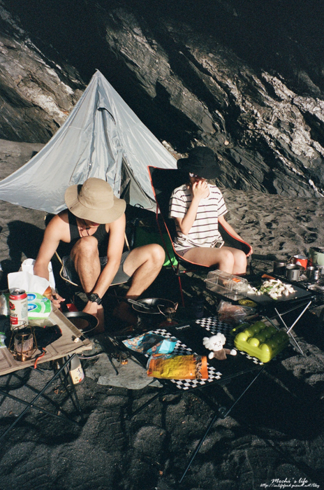 宜蘭沙灘露營