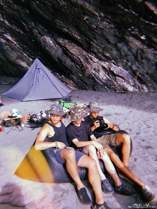 海邊野營景點