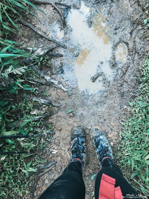松蘿湖雨鞋
