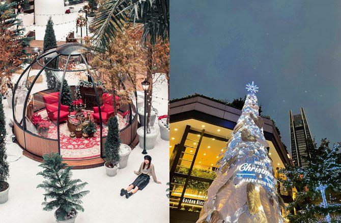 台北晚上室內景點|信義區2020聖誕樹,超好拍的貴婦百貨+信義誠品企鵝家族!下雨也可拍的北歐聖誕雪景@捷運市政府站