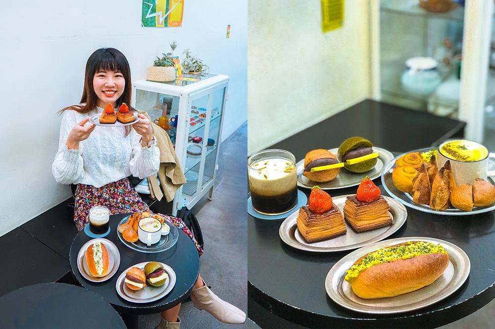 大安站咖啡廳|moon baking:台北超好吃麵包店,大推抹茶紅豆圓法!菜單價格@捷運大安站