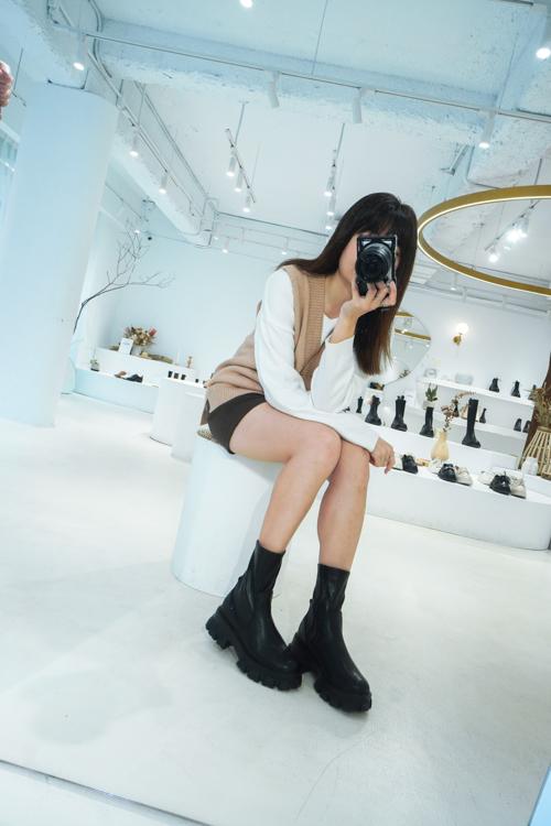 D+AF門市,排隊,排隊人潮,台北東區,敦南門市,女鞋品牌