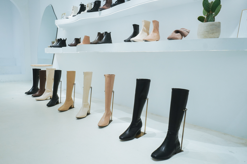 D+AF門市,女鞋品牌,敦南門市,長靴,瘋女人聯名款,短靴