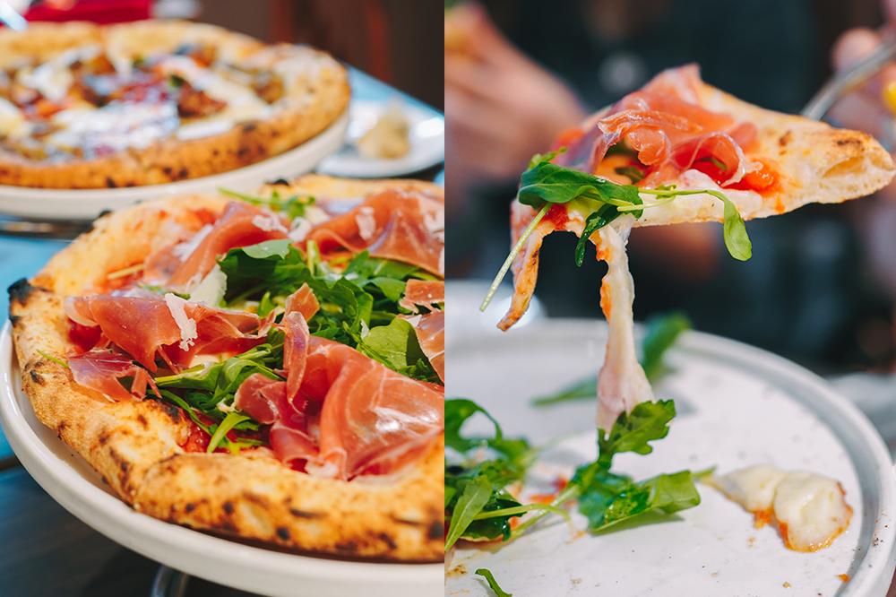 松江南京站美食|BANCO長安店:台北最好吃的冠軍拿坡里披薩pizza+自製生麵義大利麵