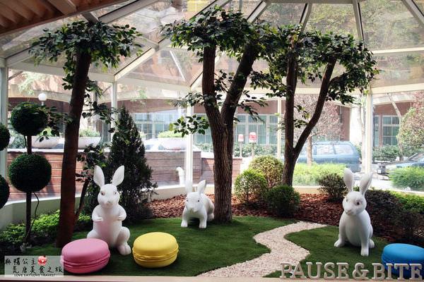 台北松山 ▌輕‧甜食空間,我在「Pause&Bite」找到屬自己的幸福(捷運國父紀念館、京華城)