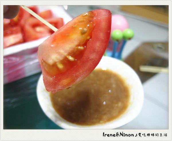 板橋南雅夜市 ▌「南部口味番茄盤」:南部番茄吃法、沾醬大解析 冬天限定