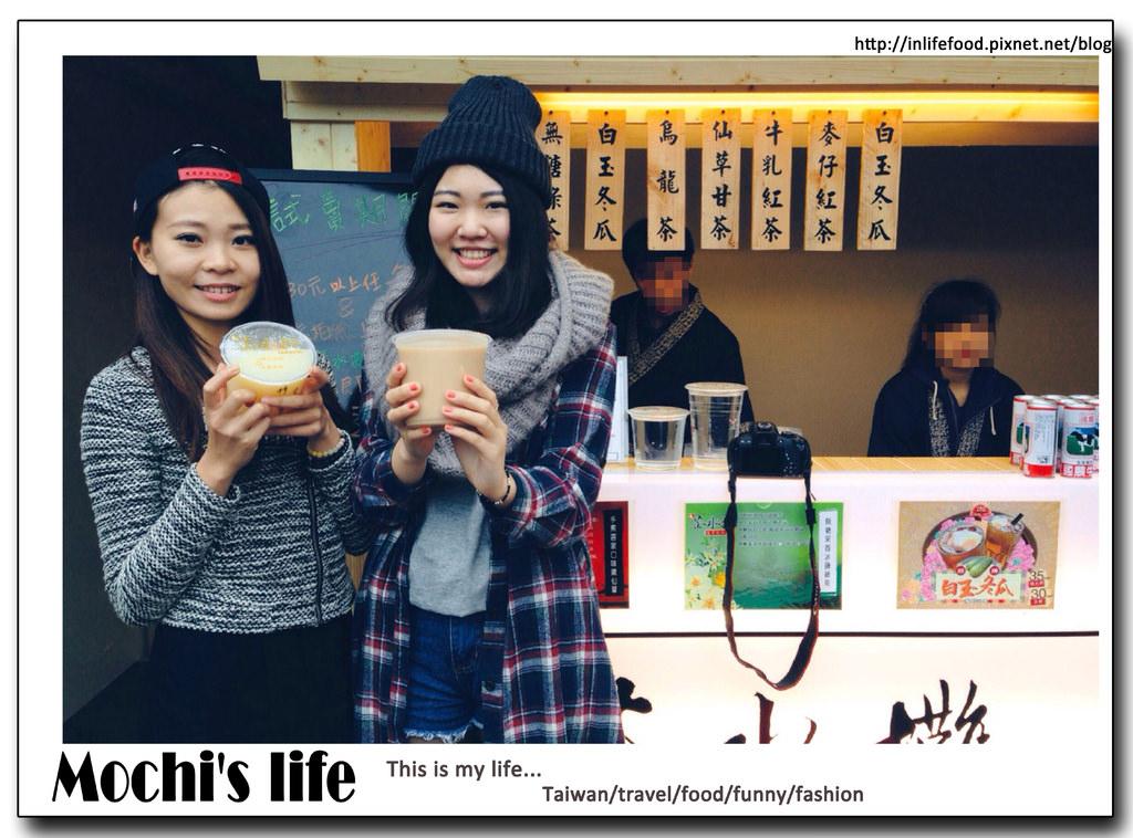 新北淡水飲料▌朋友開店啦~「茶水攤」:超大杯又便宜的飲料/古早味紅茶(捷運淡水站)