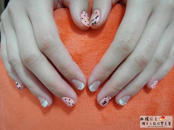 中山區凝膠指甲推薦 ▌「喬米時尚美學」: 迪士尼公主指甲作品×情人節也要漂亮