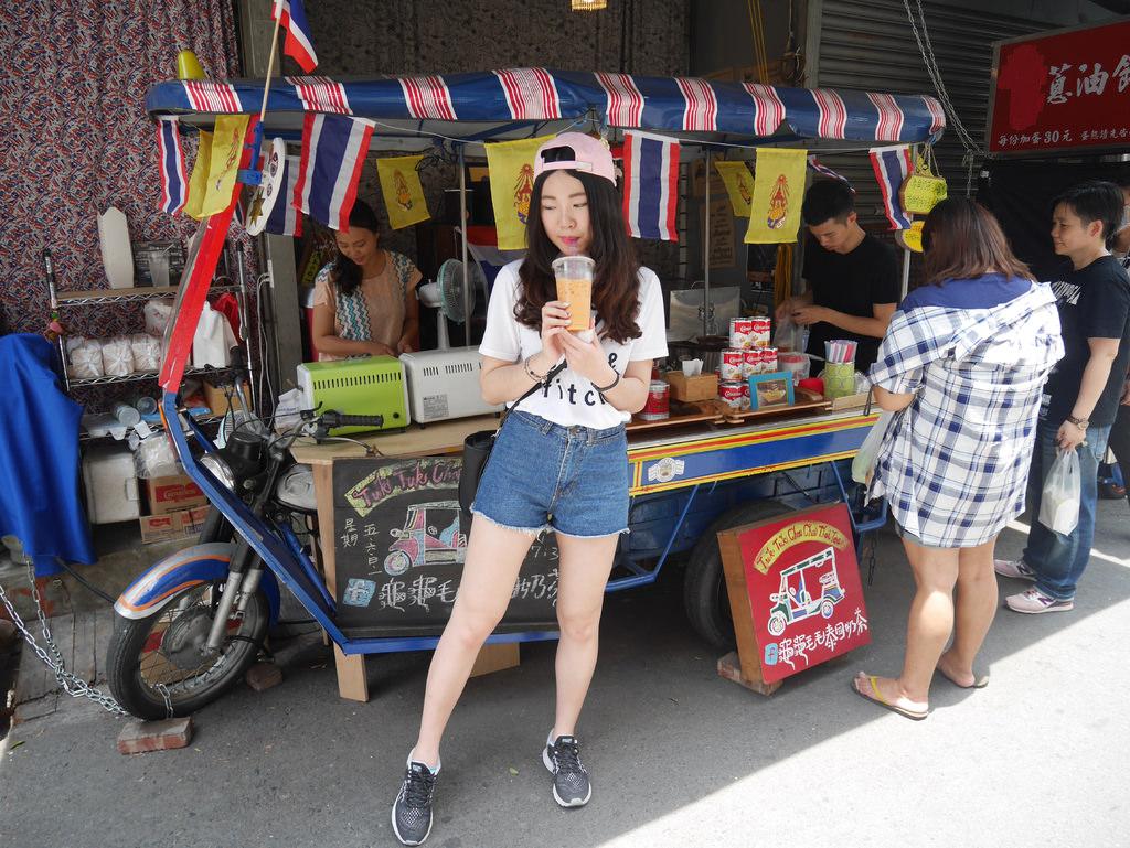 台南國華街美食▌一秒到泰國!爆紅泰國奶茶:「龜龜毛毛泰國奶茶」可愛又好喝的曼谷味(台南國華街)