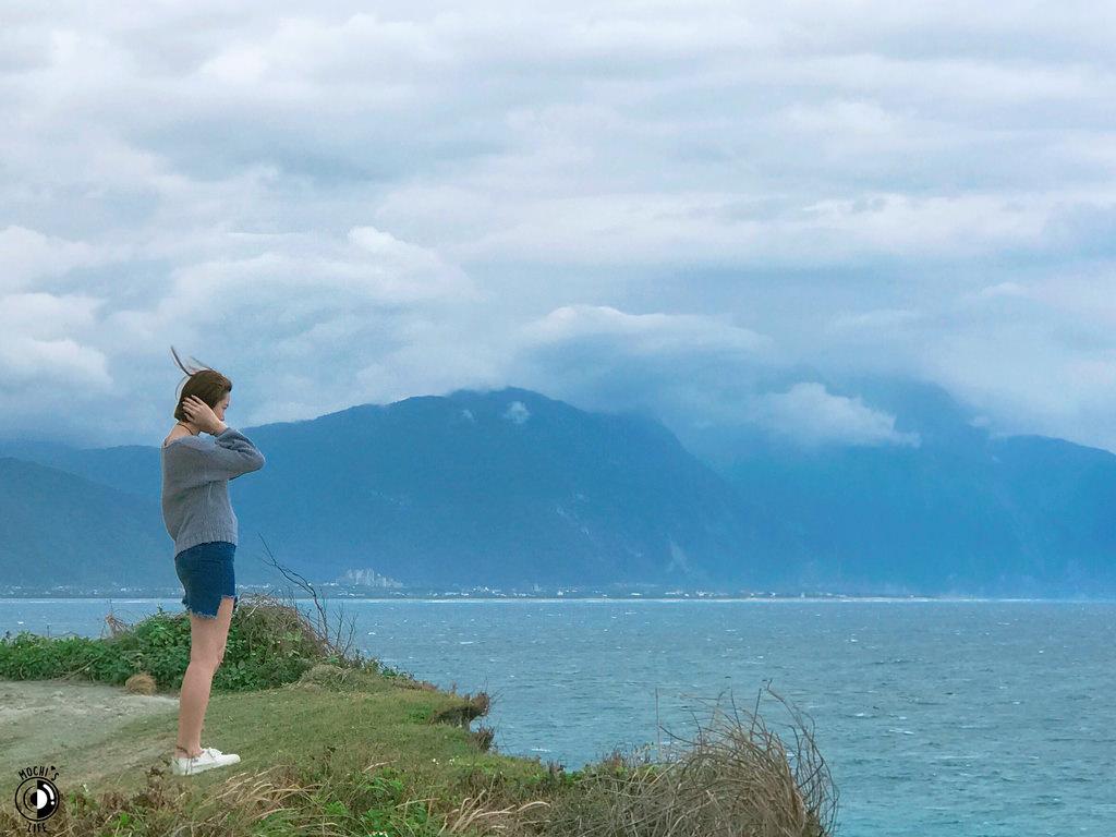 花蓮市區景點|「四八高地」花蓮版神秘海岸(?!) 私房看海景點,從「四八高地」眺望七星潭的美