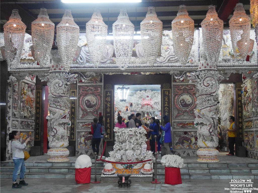 三芝景點▌海底龍宮現身山上?!貝殼珊瑚打造的「三芝貝殼廟」三芝一日遊