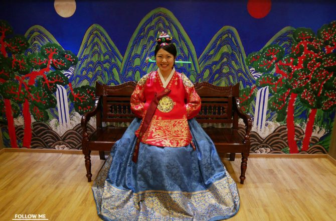 韓國釜山景點▌推薦行程!「釜山博物館」免費韓服體驗,韓服很新很美,講解專業@大淵站三號出口