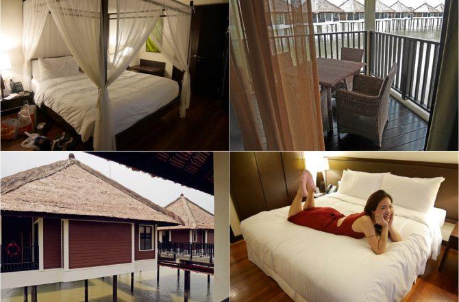 馬來西亞渡假村▌我在「AVANI棕櫚渡假村」水上屋,聽海浪聲睡覺/小杜拜/AVANI SEPANG GOLDCOAST RESORT(房間篇)-2