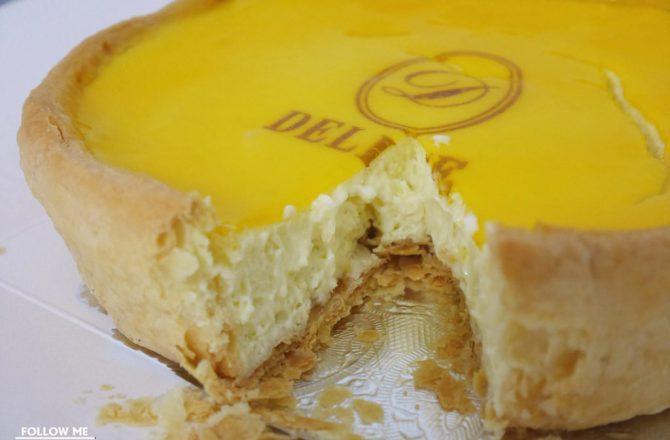 仿大阪PABLO半熟起司蛋糕▌「黛麗斯烘焙屋」的大阪奶酪乳酪派其實沒這麼厲害…(捷運忠孝新生站)