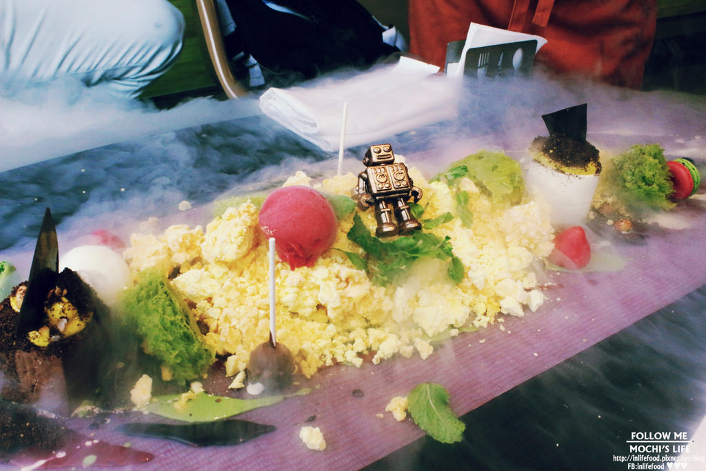 大直下午茶▌女孩打卡尖叫的「Yellow Lemon」藝術下午茶:驚喜不斷的視覺享受,但整體來說有點空虛…(捷運大直站、Yellow Lemon菜單、分子料理)