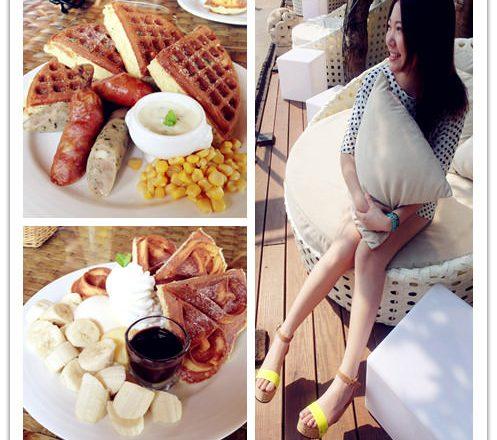 淡水下午茶 ▌「淡水榕堤水灣餐廳」:免出國就可以到峇里島享用優閒下午茶 淡水榕堤水灣餐廳